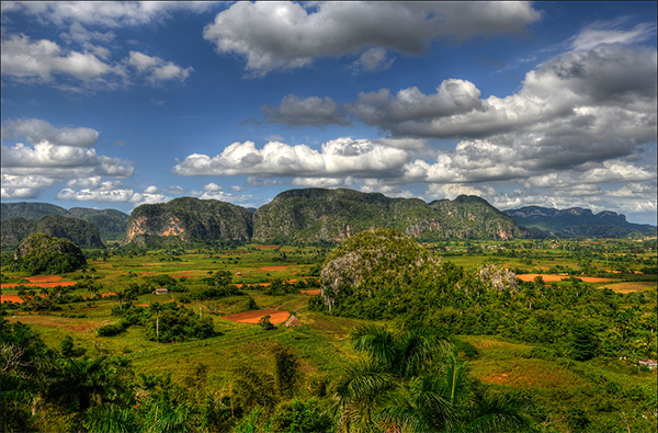 View over Vinales Valley